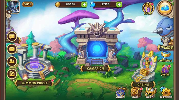 Idle heroes pour Windows